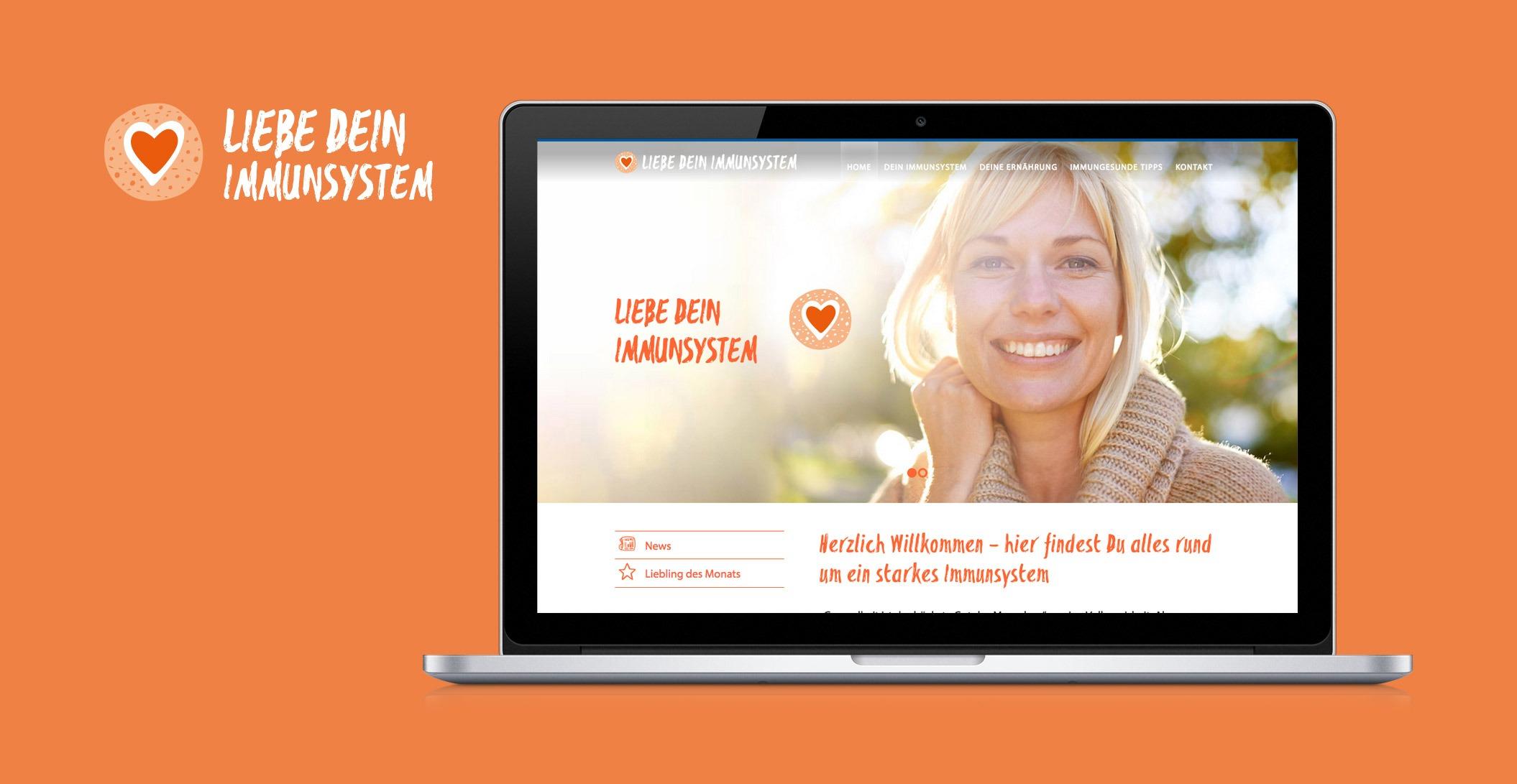 Gesamtetat Online: Liebe Dein Immunsystem – Orthomol. Bereit. Fürs Leben.