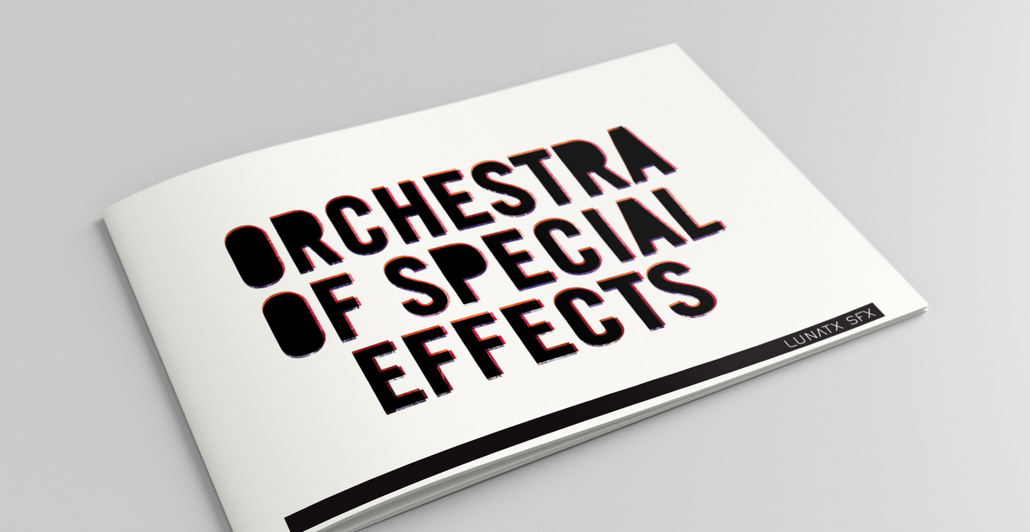 Broschüren - Lunatx SFX, Orchestra of Special Effects