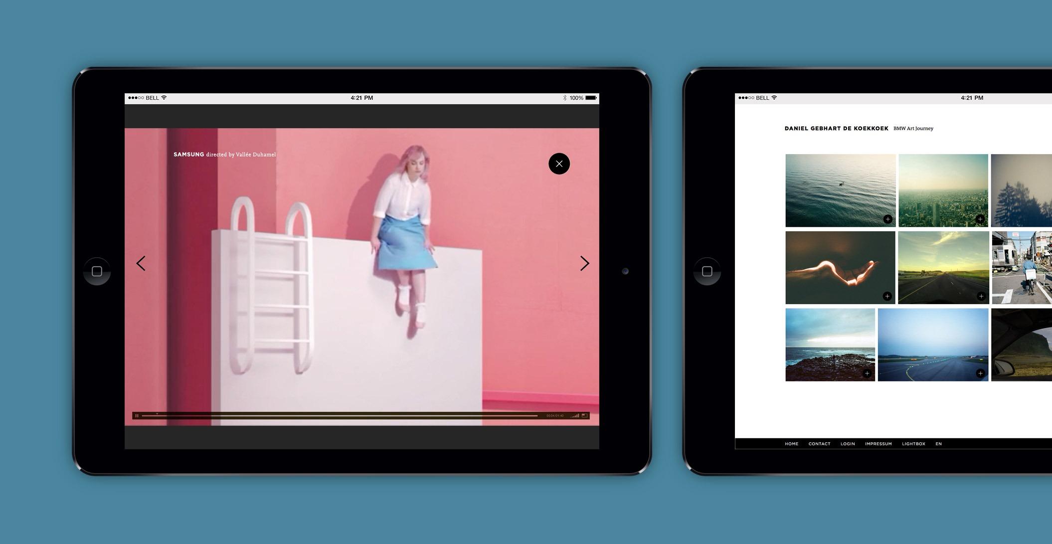 Website, Samsung Spot, Regisseur – Rekorder Berlin Filmproduktion