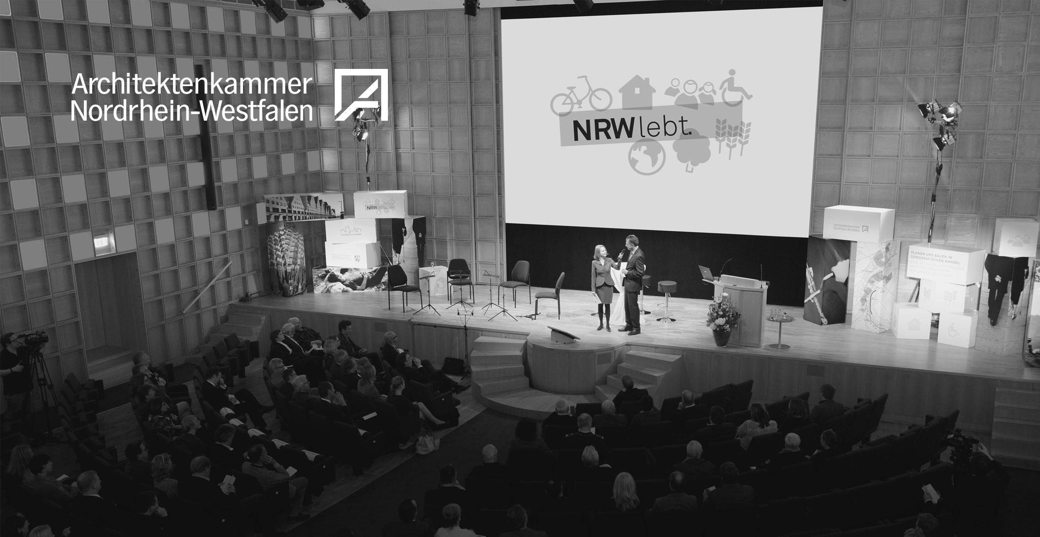 Auftaktveranstaltung in der Akademie der Wissenschaften - Architektenkammer NRW - NRW lebt.
