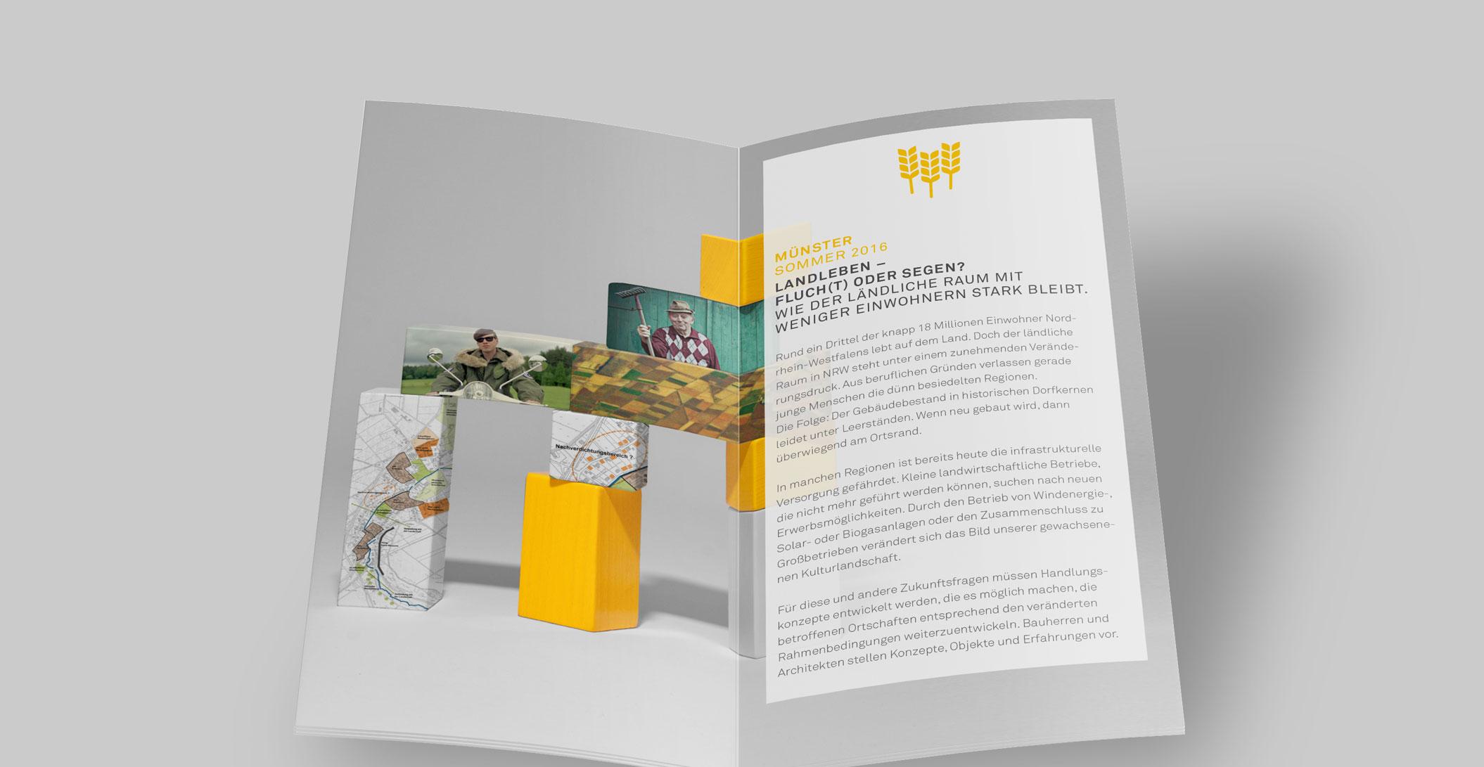 Programmheft – 24 Seiten - Architektenkammer NRW - NRW lebt.