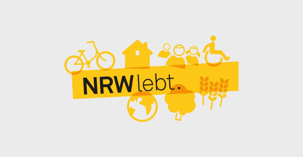 Logo Design - Architektenkammer NRW - NRW lebt.