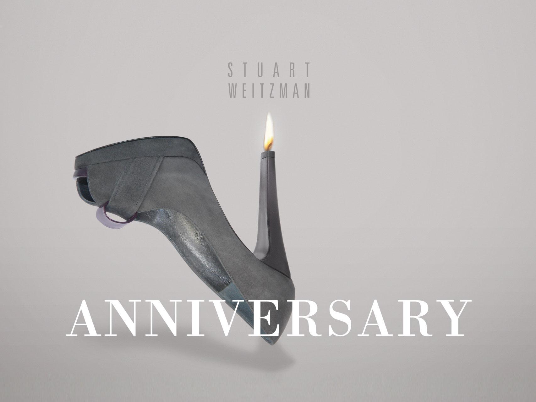 Stuart Weitzman: Kreation für Jubiläum